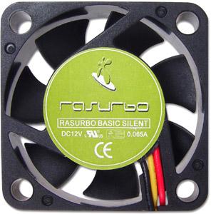 Lüfter 12VDC  40x40x10mm,19dB(A),Sleeve Bearing, bulk
