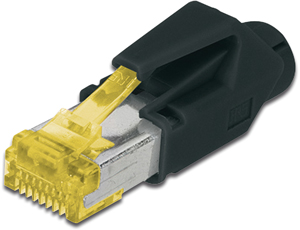 Modular Plug RJ45 Hirose CAT6A,8P8C Full Shielded CAT6a