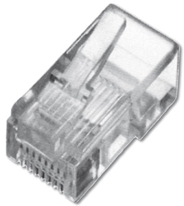 Modular Plug RJ45 Flat Cable,8P8C Unshielded