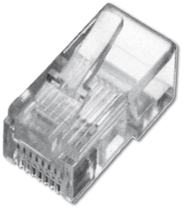 Modular Plug RJ45 Round Cable,8P8C Unshielded - Round Cable