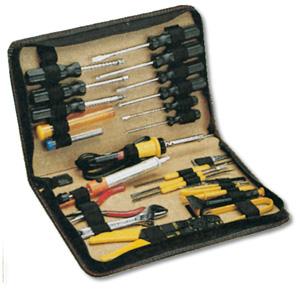 DIGITUS Werkzeugset 25-teilig Service Tasche