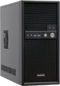 PC Gehäuse Mini Tower CE 350W,Schwarz, USB3.0, Audio