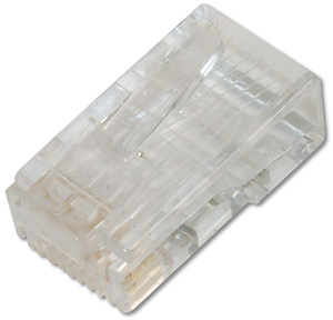 Modular Plug RJ45 Round CAT6,8P8C Unshielded with Boot