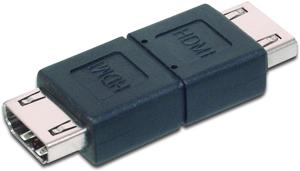 Adapter HDMI A BUBU,HDMI A BU  HDMI A BU Black