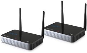 Wireless HDMI Extender, 1080p,bis 100m Reichweite, Schwarz