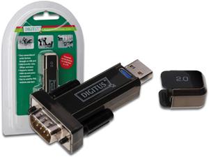 USB Seriell Adapter USB2.0,USBASTDSUB9ST/incl.80cm Kab