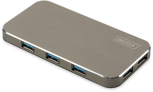 USB Hub  7PORT USB 3.0,Inkl.5V/3,5A Netzt.,bis 5Gbps