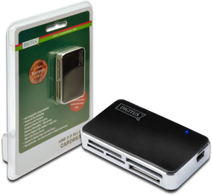 Card Reader All in One USB 2.0,Supports T-Flash