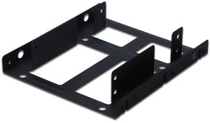 Festplatten Einbaurahmen 2,5\,für 2x2,5\ HDDs in 3,5\Schacht