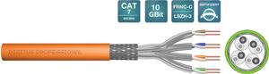 Verlegekabel CAT.7  S/FTP 100m,4x2xAWG23/1, LSOH-3, 100m