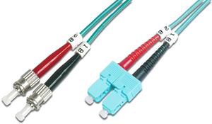 LWL Duplexkabel STSC  1m OM3,50/125µ