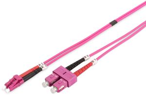 LWL Duplexkabel LCSC 10m OM4,50/125µ