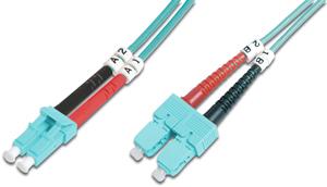 LWL Duplexkabel LCSC 10m OM3,50/125µ