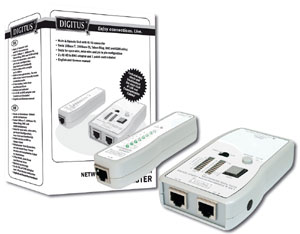 Kabeltester Netzwerk Kommun.,RJ45, RJ12, RJ11, BNC