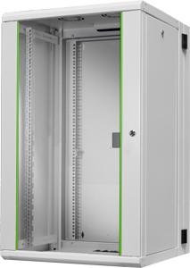 Schrank Wandmontage 20HE 2Teil,H 1000 x B 600 x T 600 mm