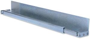 Gleitschienen 6-800mm Schränke,L-Support, ausziehbar
