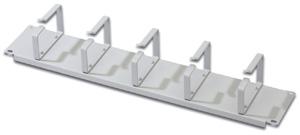 Rangierpanel  2HE 5xFB,5x Kabelführungsbügel Metall