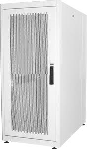 Serverschrank 26HE Per.Tür,H1300 x B600 x T1000 mmRAL7035