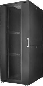 Serverschrank 42HE Per.Tür,H1955x B800 xT1000 mm RAL9005