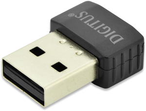WLAN USB 2.0 Adapter 433Mbps,11AC, 2,4/5GHz Dual Band