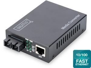 Media Conv.SC/RJ45  Multimode,10/100TX an 100FX/MM/SC, 2KM
