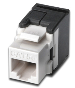 Keystone Jack CAT.5e RJ45 UTP,Toolless