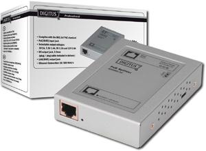 PoE Splitter, 802.3af,10/100 Mbps, max.12V, 0,9A