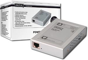 PoE Splitter, 802.3at,10/100/1000 Mbps,max.12V, 1,8A