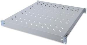 Fachboden 1HE T  525mm Grau,für 800mm Schränke, max. 50kg