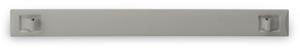 Blindblende 1HE Grau SNAP,Snap-In, Material ABS,