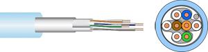 Verlegekabel CAT.6a  F/FTP,4x2xAWG23, LSHF, 500m
