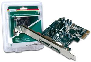 PCI Express SATA2 Controller,2x eSATA2 2x SATA2