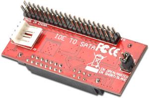 Adapter IDE to SATA,für SATA HD an IDE Controller