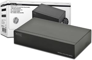 VGA Splitter 8 Fach 500MHz,Max. Auflösung 2048x1536