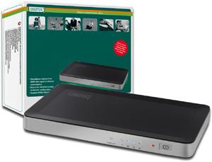 HDMI Splitter 4-Port, HDMI1.3b,Aufl.max.1080i/p, 225MHz
