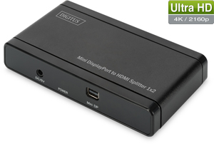Mini DP auf HDMI Splitter,4K,2 Port, Aufl.max.4096x2160