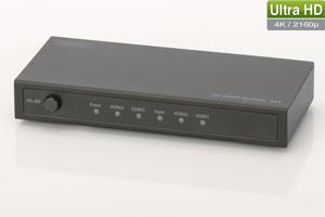 HDMI Splitter 4-Port, 4K,Aufl.max.4096x2304, 3D Support