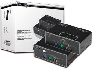 Extender KVM 200m,USB,PS2 Anschluss, LocalPort