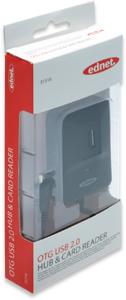 OTG USB 2.0 Hub & Kartenleser,für SD/MS/TF/M2/MMC Karten