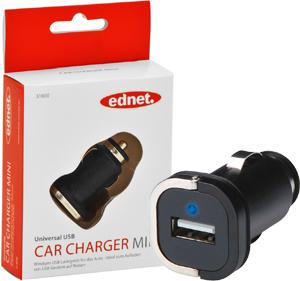 USB Car Adapter,Mini Design, LED Anzeige