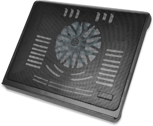 Notebook Kühler, bis zu 17,3,1x 140mm Lüfter, schwarz