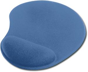 Mouse Pad mit Gelauflage,Farbe: Blau