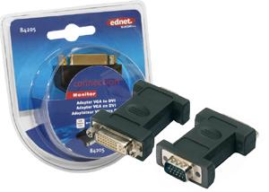 Adapter DVI-I BUVGA ST,DVI-I Buchse  DSUB15 Stecker
