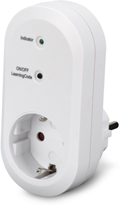 Indoor receiver unit, Withe,ednet.living Smart Plug