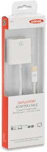 Mini DisplayP.STDVI BU,Goldk., weiss, 0,15m
