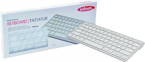 Tastatur Bluetooth, silver,bis 10 Meter Reichweite