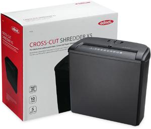 SHREDDER Cross-Cut  X5,13l Auffangkorb, Cross Cut