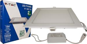 LED Downlight 18W Warm Weiß,SKU 4869, 1500lm, 225x225mm