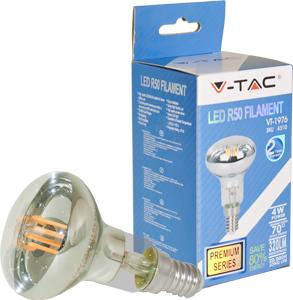 LED Bulblight E14 4W Warmweiß,320lm, 70°, Retro Design