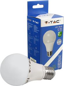 LED Bulblight E27 10W Warmweiß,SKU 4209, 806lm, 200°
